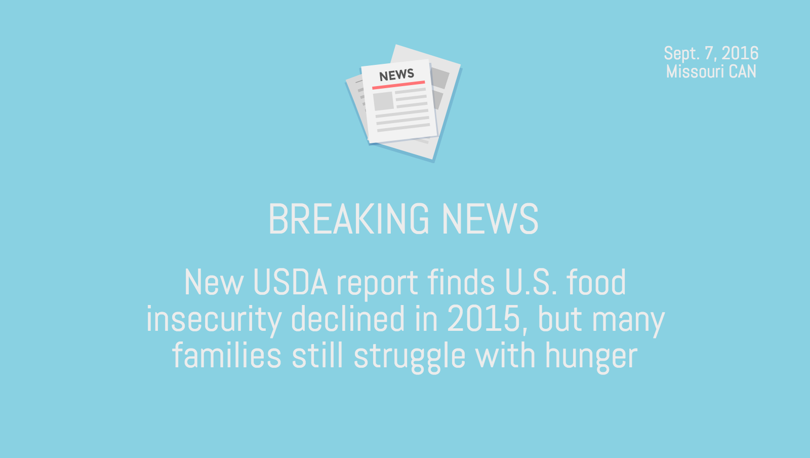 Usda Food Insecurity Report Released Missouri Community Action Network